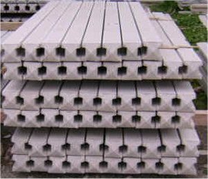 Concrete Garden Fencing Posts Supplies Installation