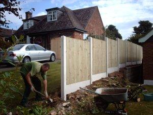 Fencing Supplies Concrete Posts Gravel Boards Waney Lap